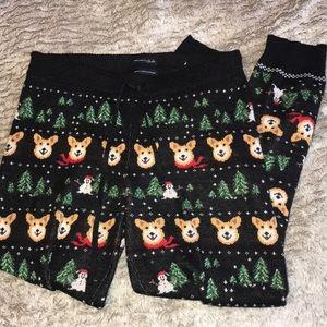 Other - AEO Christmas Corgi Lounge Pants